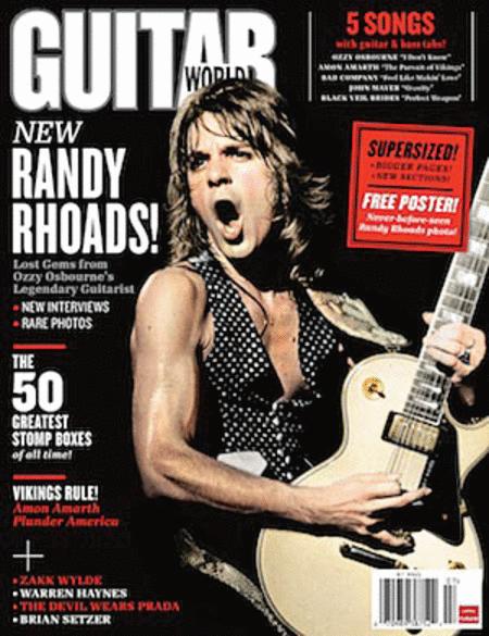 Guitar World Magazine Back Issue - July 2011