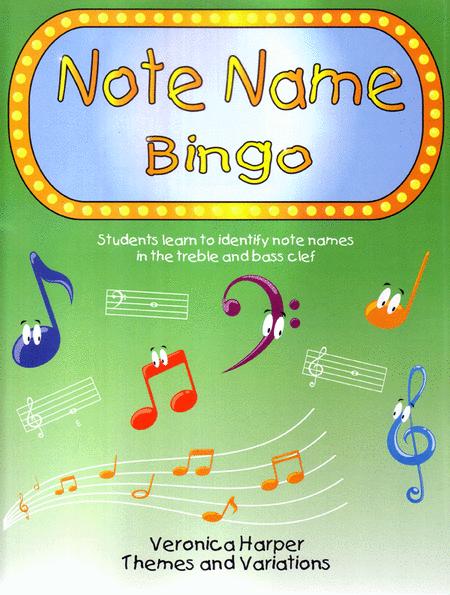 Note Name Bingo
