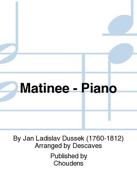 Matinee - Piano