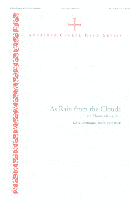 As Rain from the Clouds