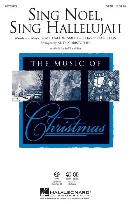 Sing Noel, Sing Hallelujah - ChoirTrax CD