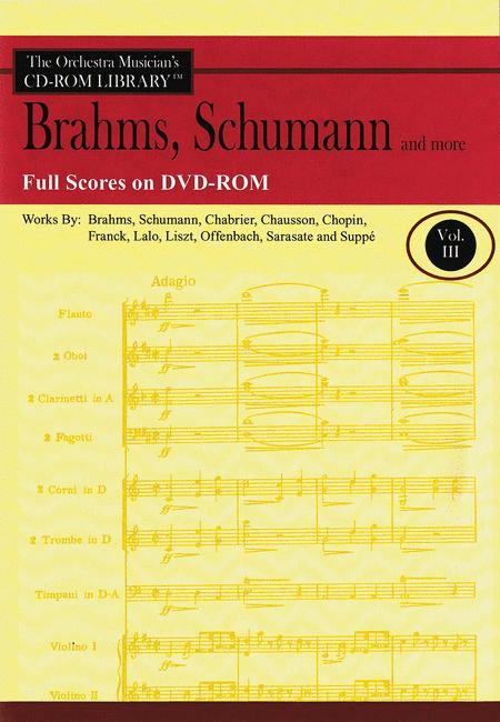 Brahms, Schumann and More - Volume 3