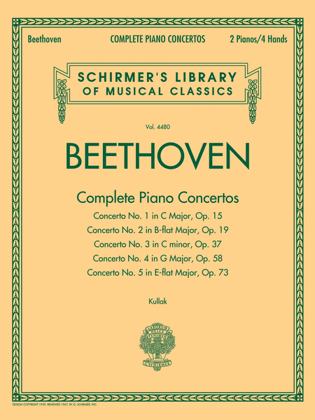 Beethoven - Complete Piano Concertos