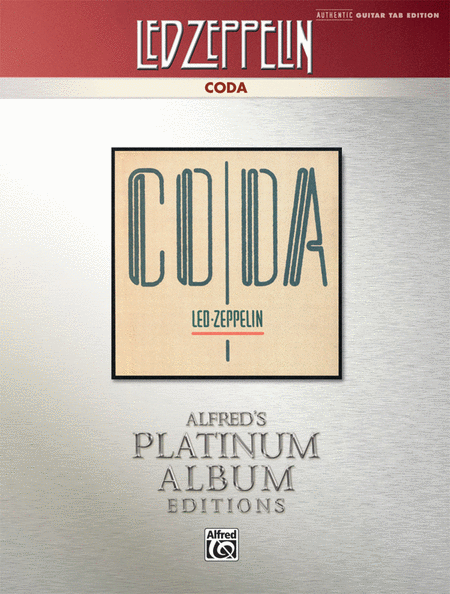 Led Zeppelin -- Coda Platinum Guitar