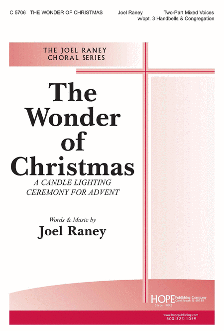 The Wonder of Christmas (A Candle Lighting Ceremony For Advent)
