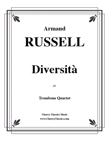 Diversita for Trombone Quartet