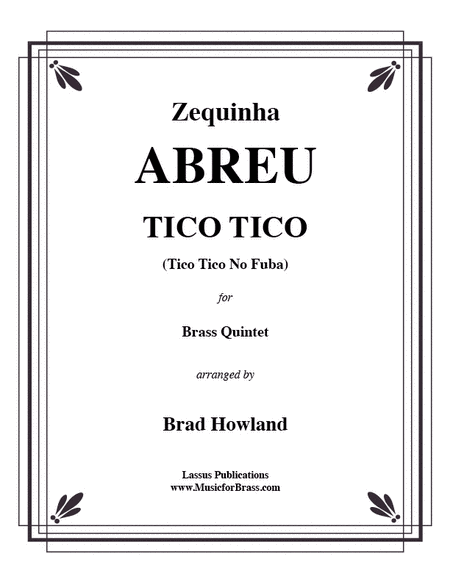Tico Tico for Brass Quintet