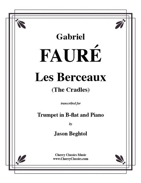 Les Berceaux for Trumpet & Piano