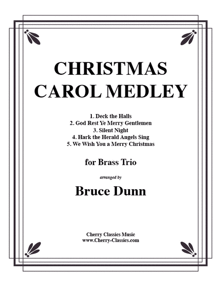 Christmas Carols for Brass trio