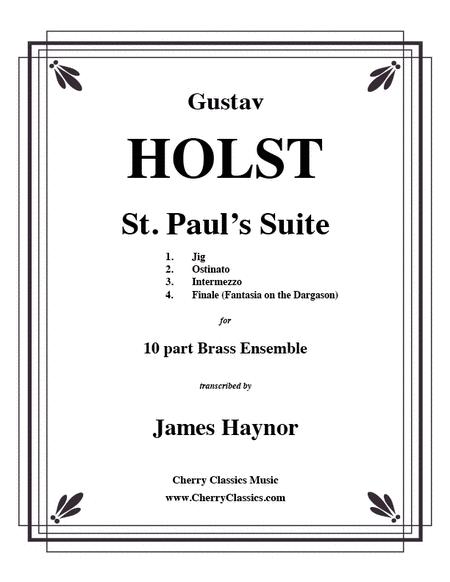 St. Paul's Suite for Brass Ensemble