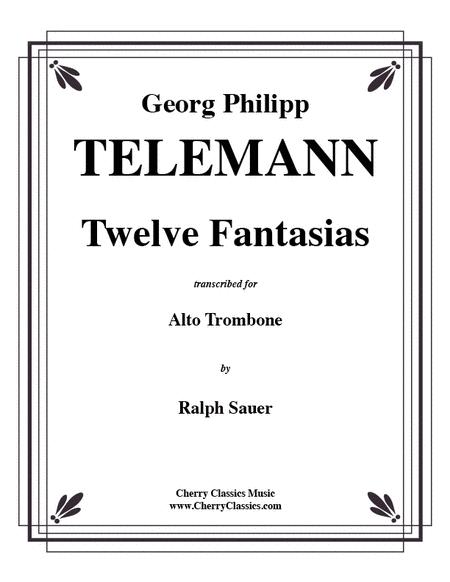 Twelve Fantasias for Alto Trombone
