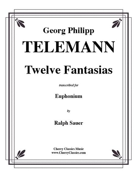 Twelve Fantasias for Euphonium