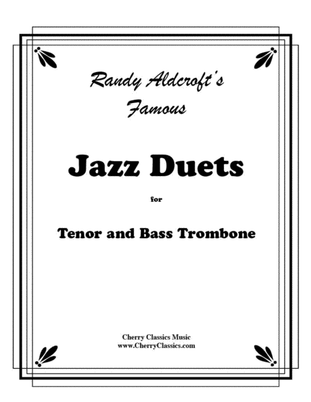 Famous Jazz Duets for Tenor & Bass Trombone