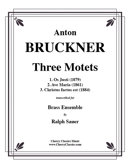 Three Motets for Brass Ensemble