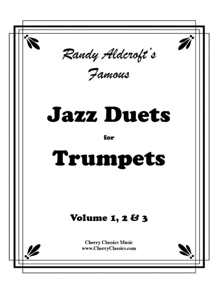 Famous Jazz Duets for Trumpet in 3 volumes