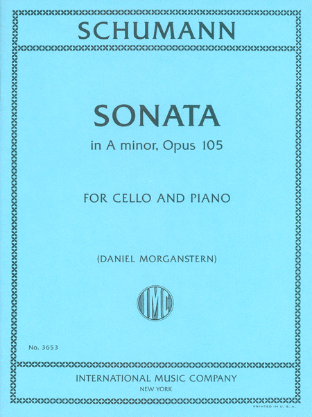Sonata in A minor, Opus 105