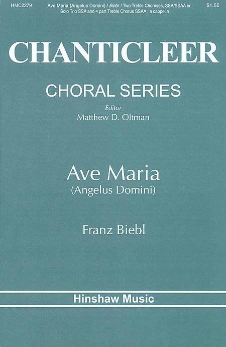 Ave Maria(Ssa/Ssaa)