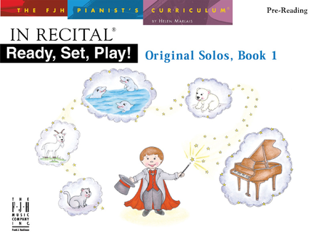 In Recital! Ready, Set, Play, Original Solos, Book 1