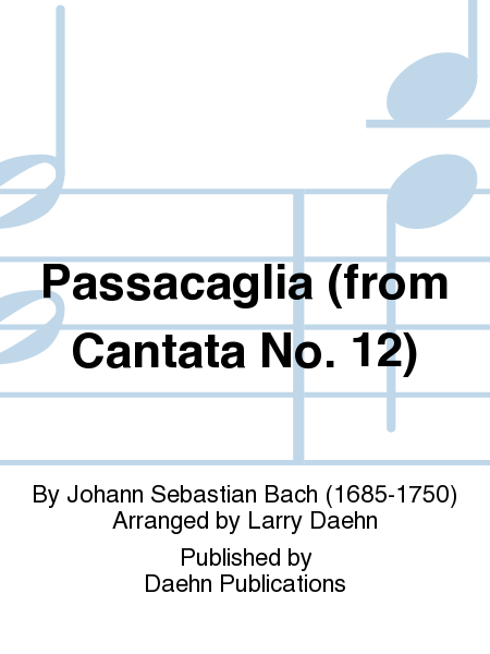 Passacaglia (from Cantata No. 12)