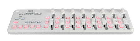nanoKONTROL2 - White