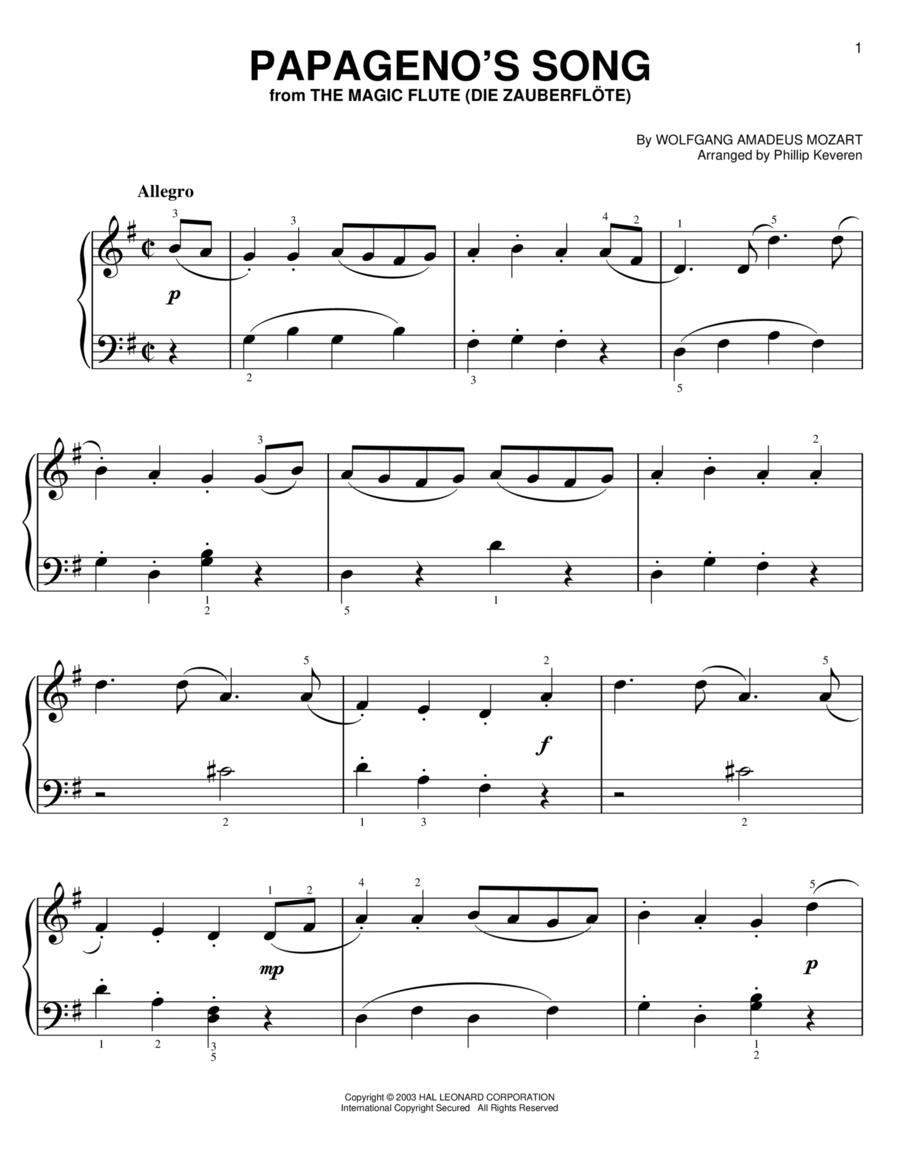 Papageno's Song