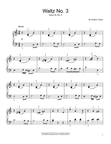 Waltz Op. 34, No. 2
