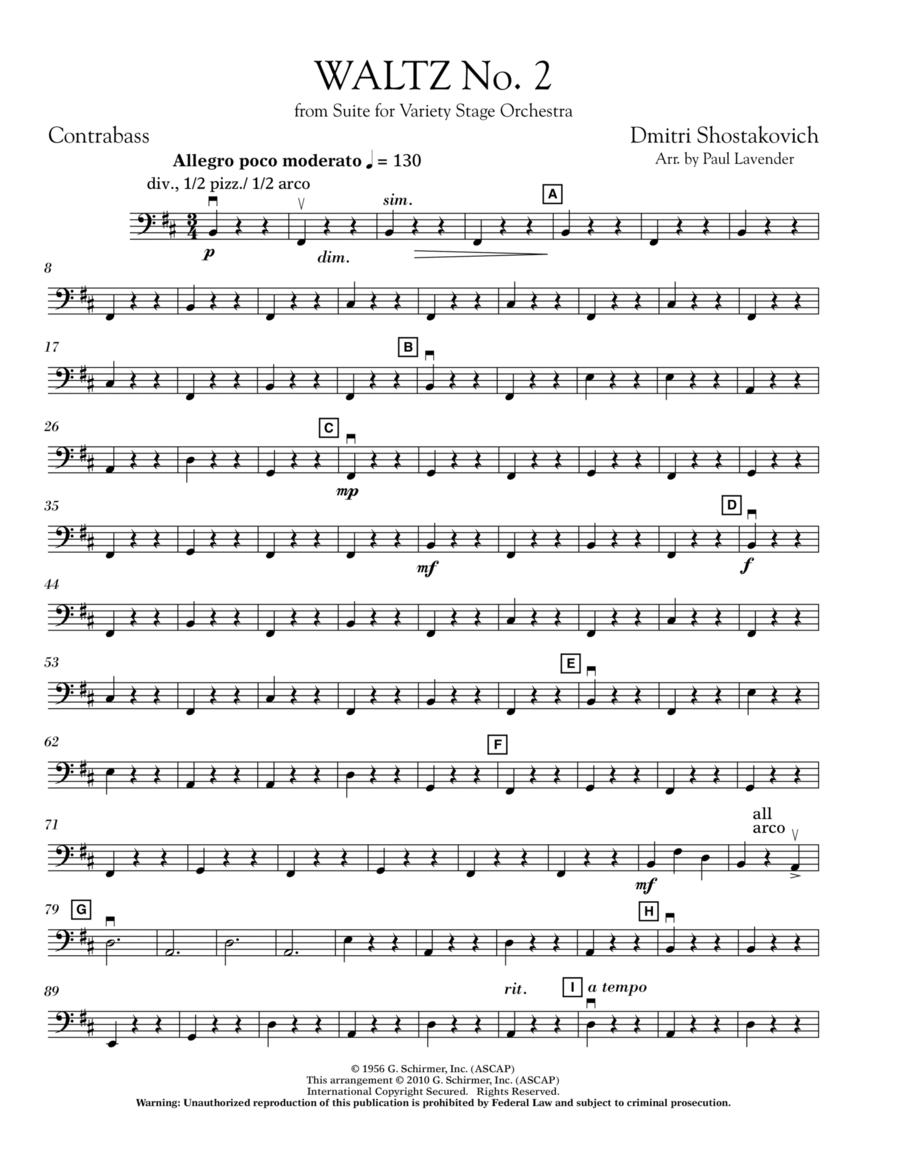 Waltz No. 2 - Bass