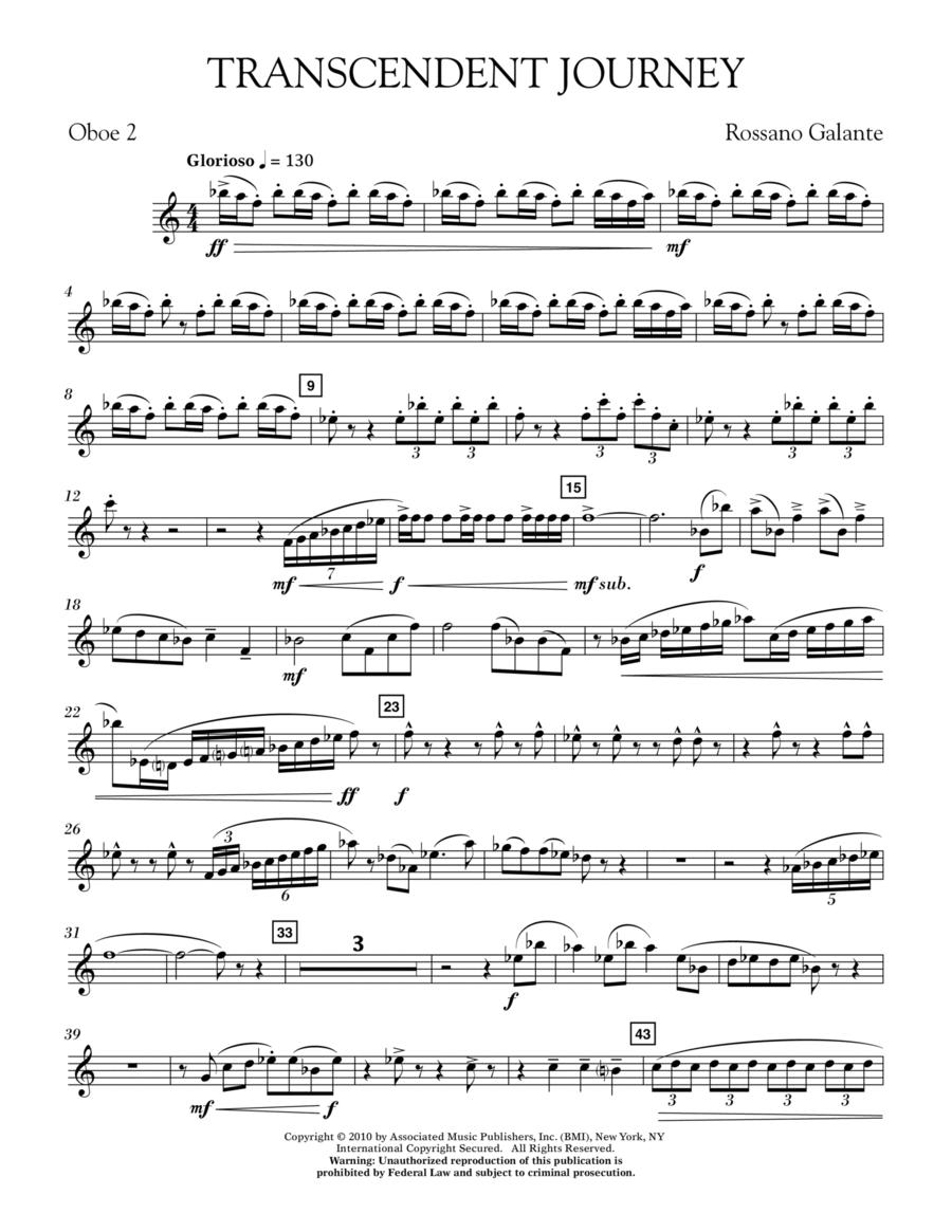 Transcendent Journey - 2nd Oboe