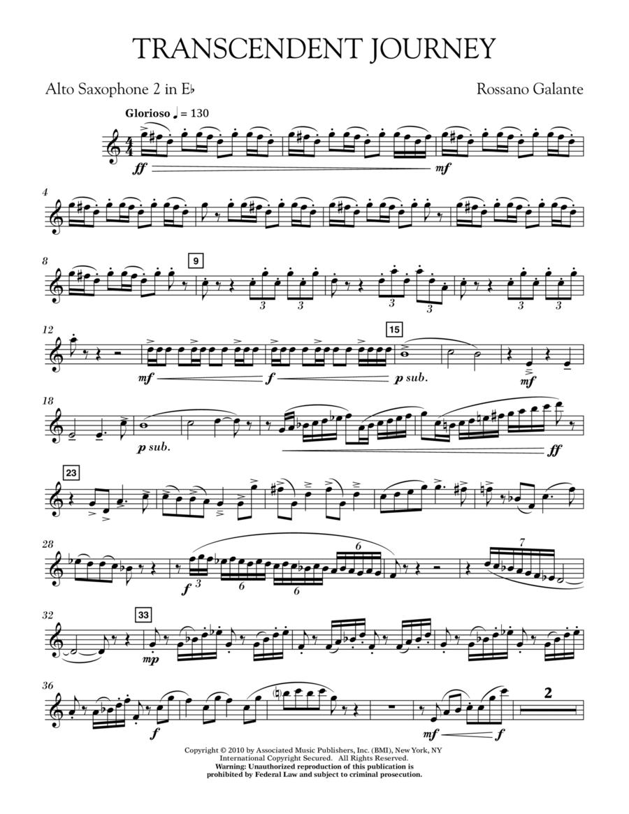 Transcendent Journey - Eb Alto Saxophone 2