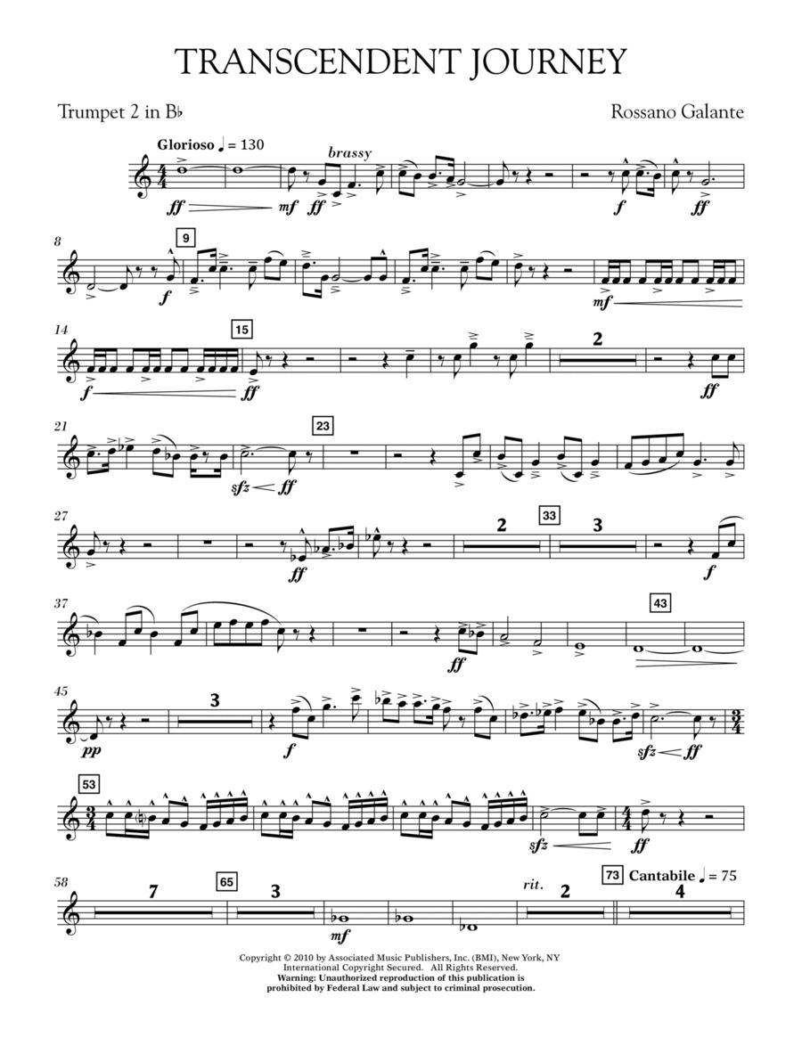 Transcendent Journey - Bb Trumpet 2