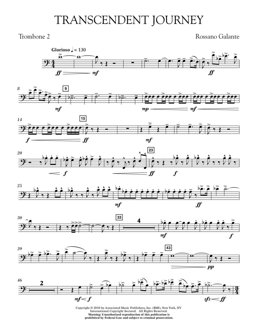 Transcendent Journey - Trombone 2