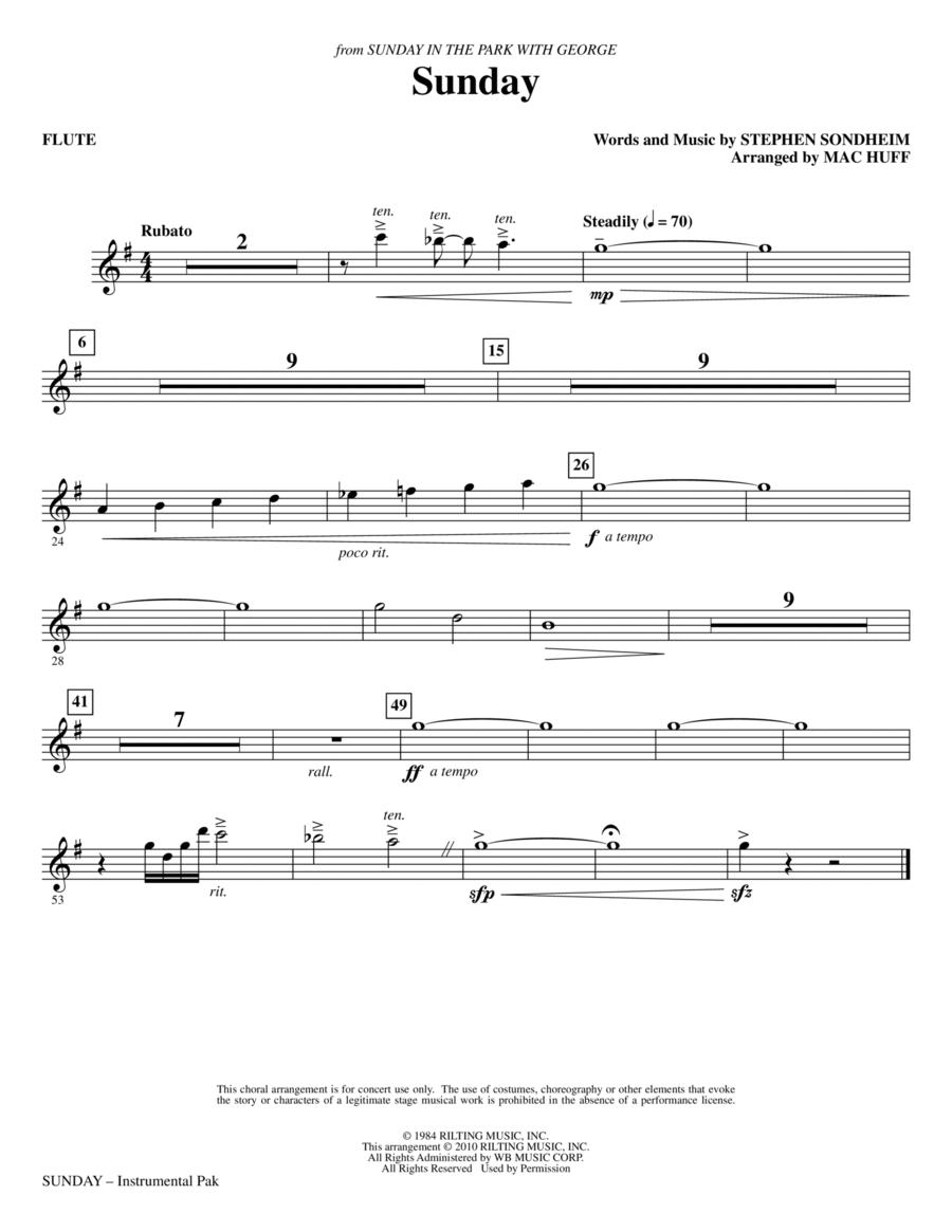 Sunday - Flute