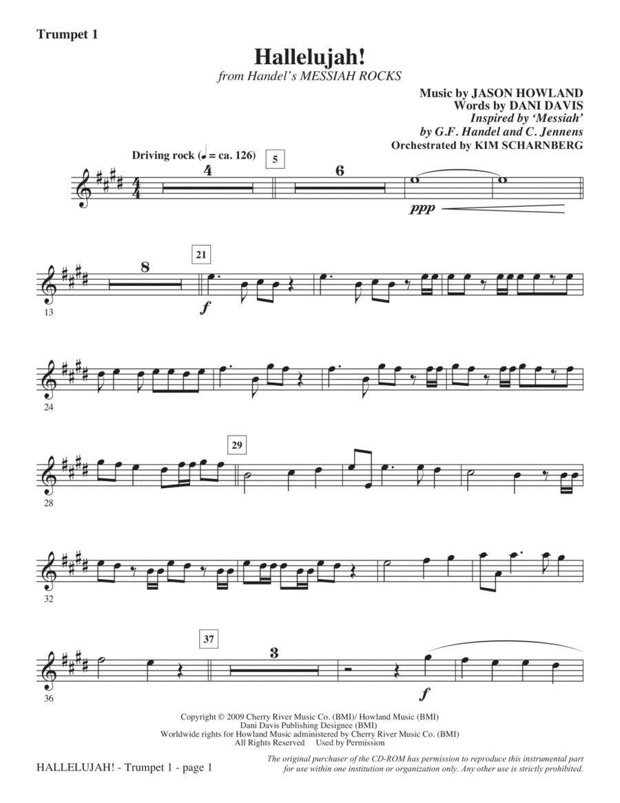 Hallelujah! (from Messiah Rocks) - Trumpet 1