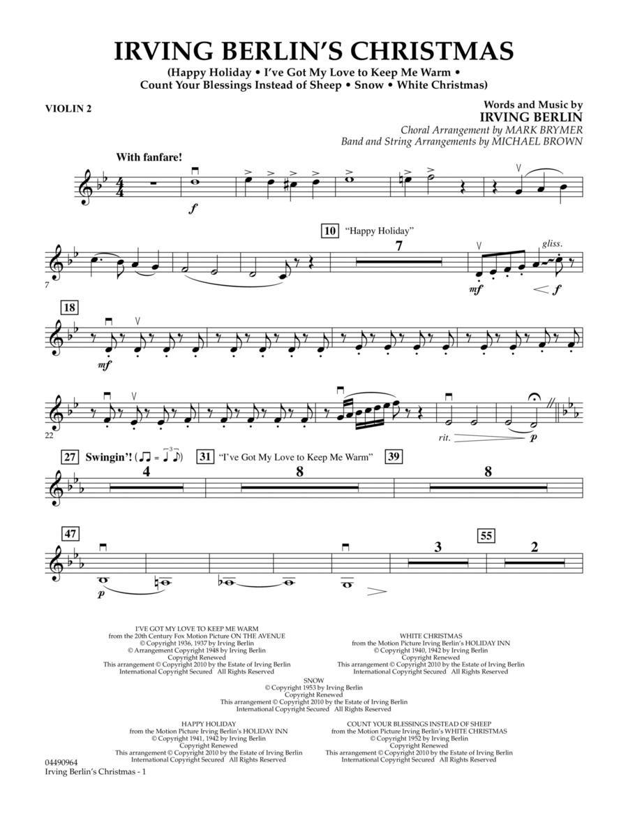 Irving Berlin's Christmas (Medley) - Violin 2