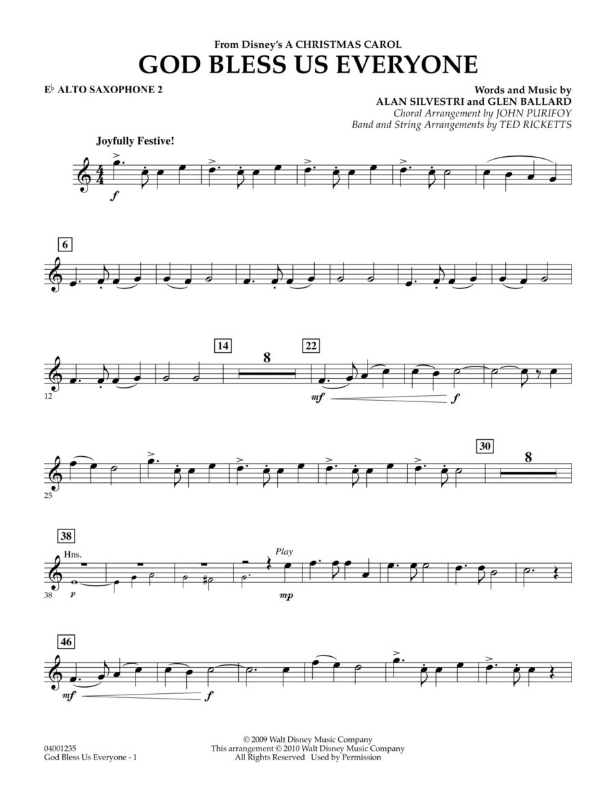 God Bless Us Everyone - Eb Alto Saxophone 2