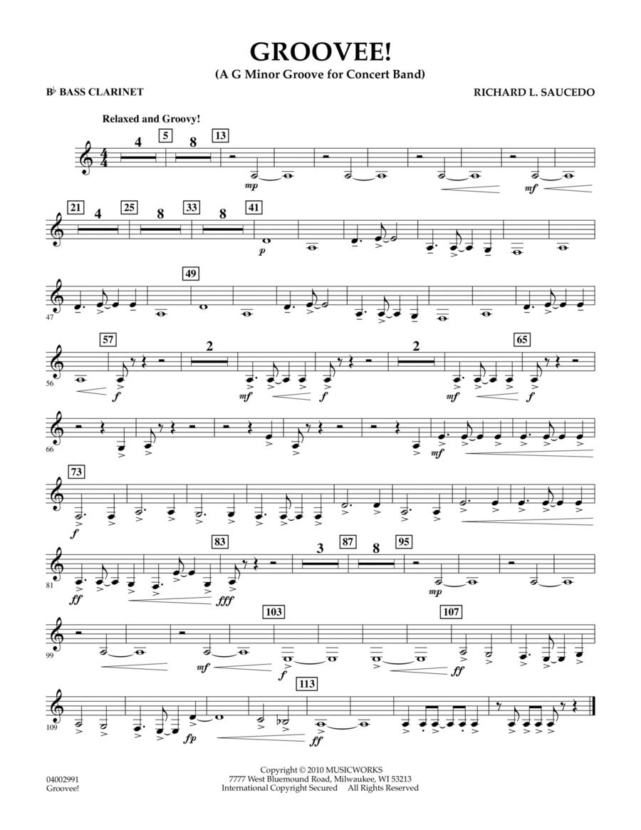 Groovee! - Bb Bass Clarinet