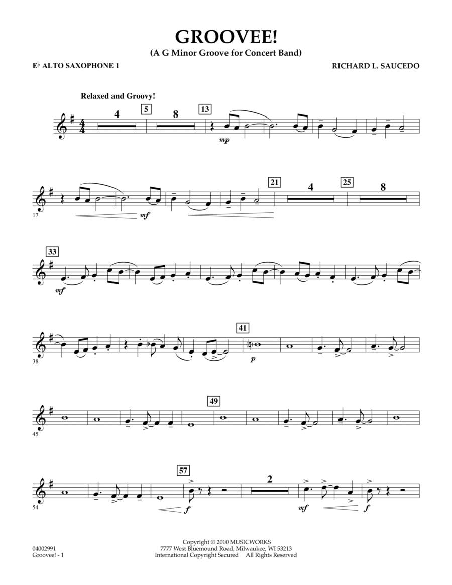 Groovee! - Eb Alto Saxophone 1