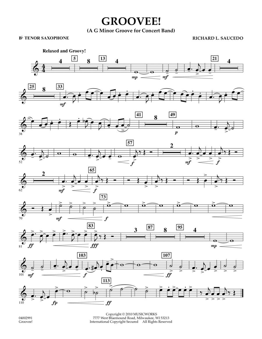 Groovee! - Bb Tenor Saxophone