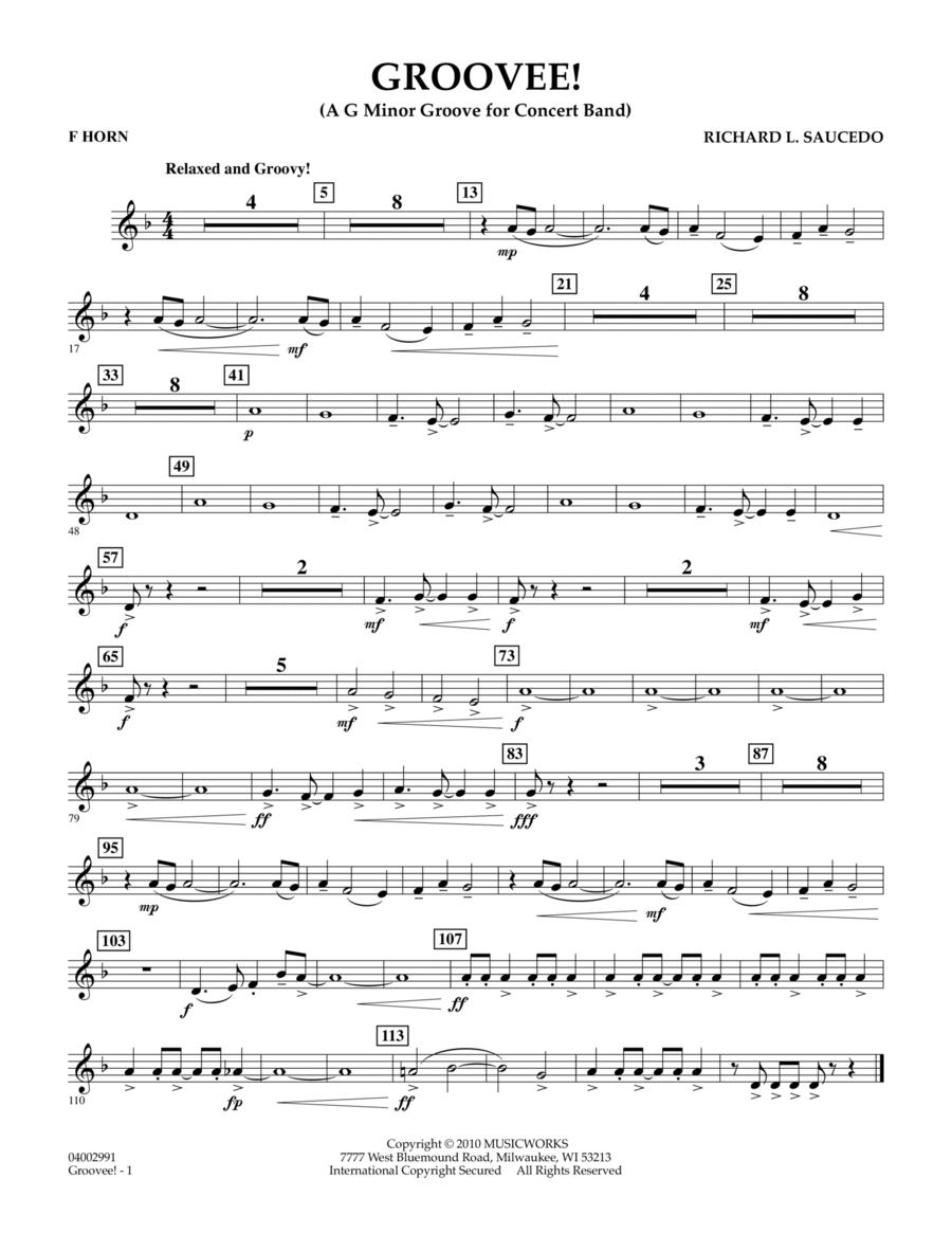 Groovee! - F Horn