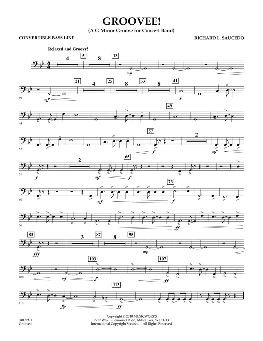 Groovee! - Convertible Bass Line