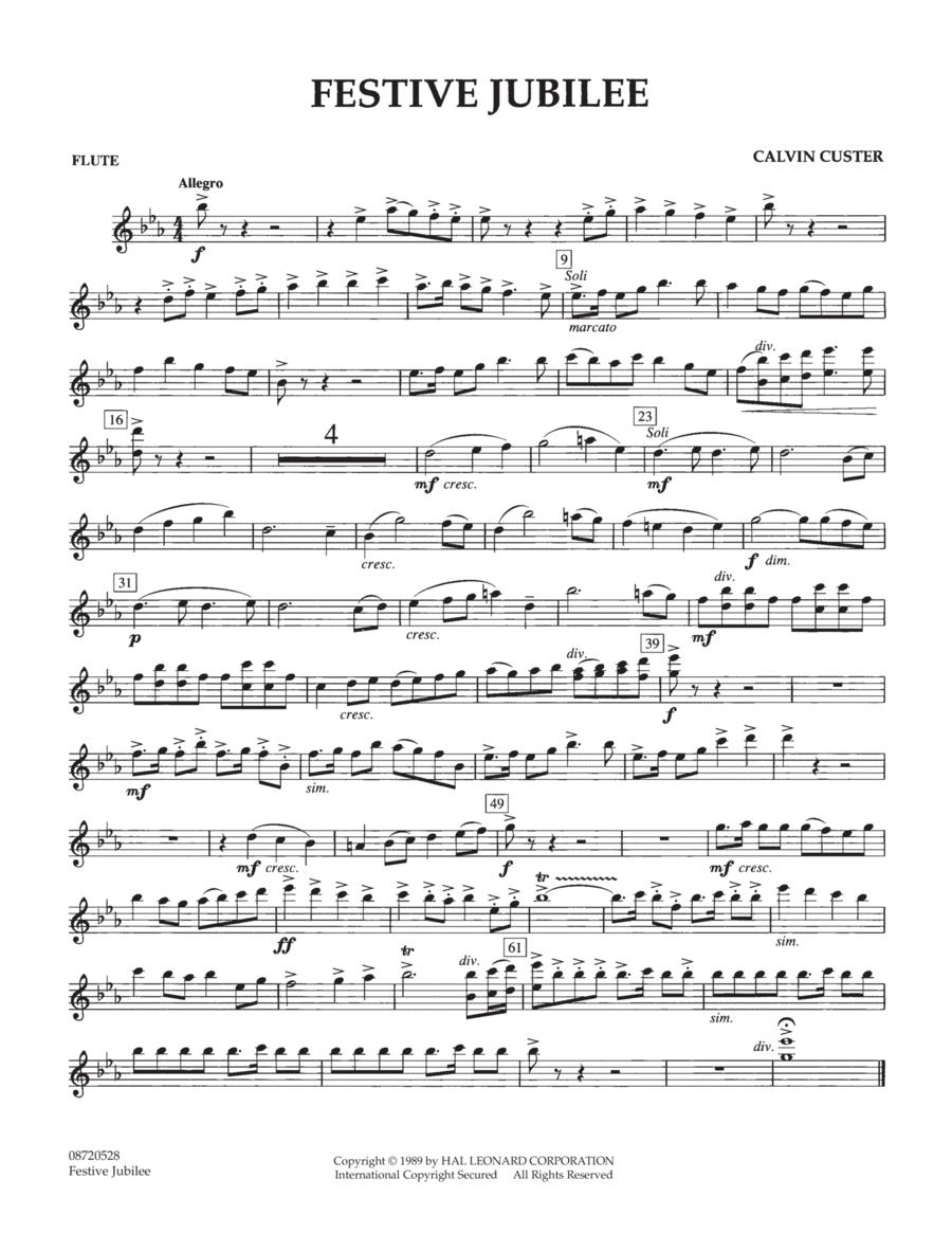 Festive Jubilee - Flute