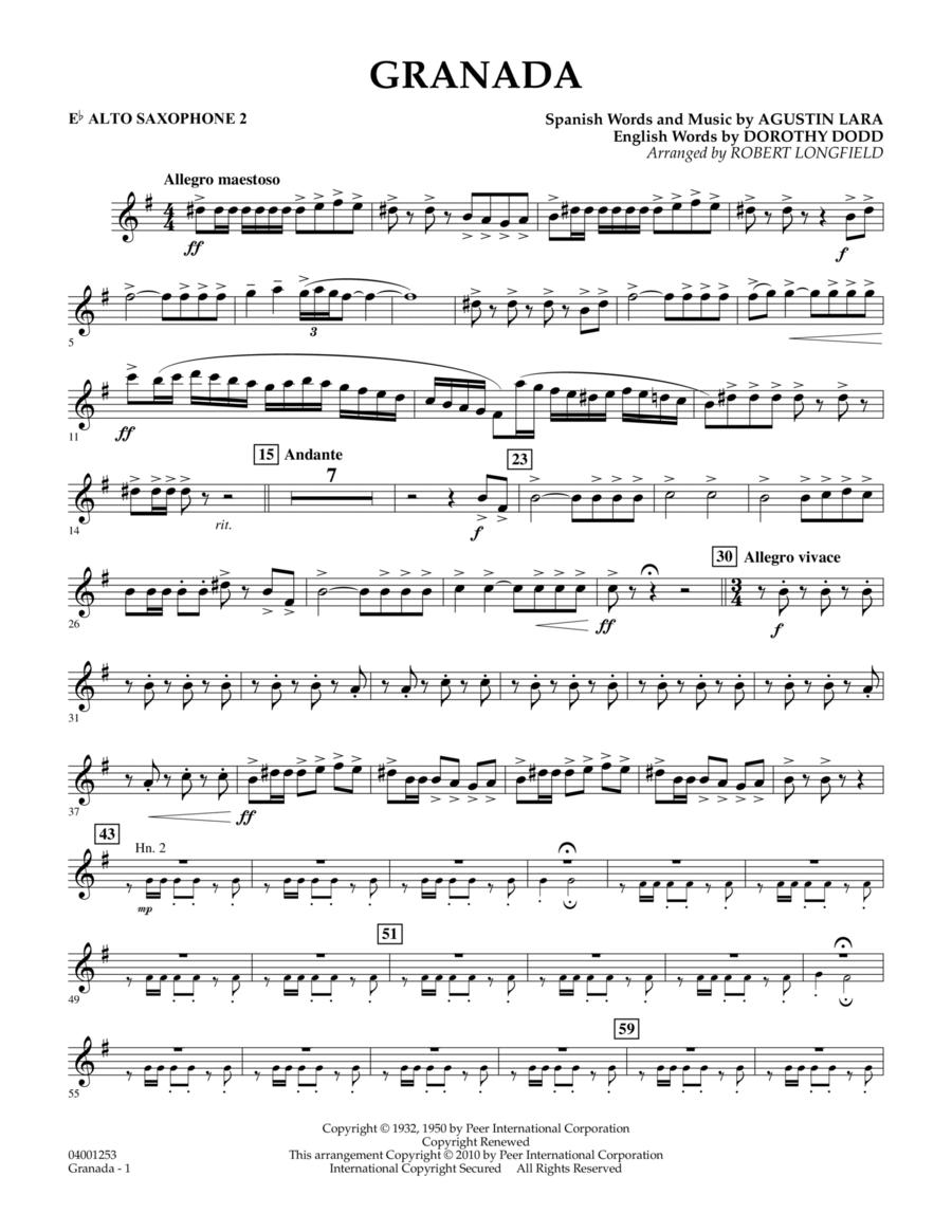Granada - Eb Alto Saxophone 2