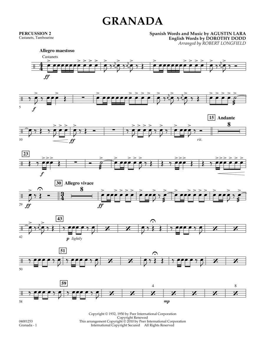 Granada - Percussion 2