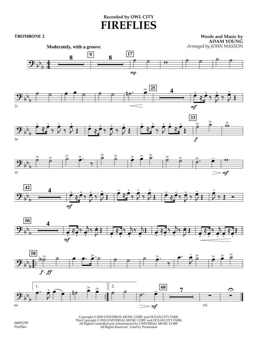 Fireflies - Trombone 2