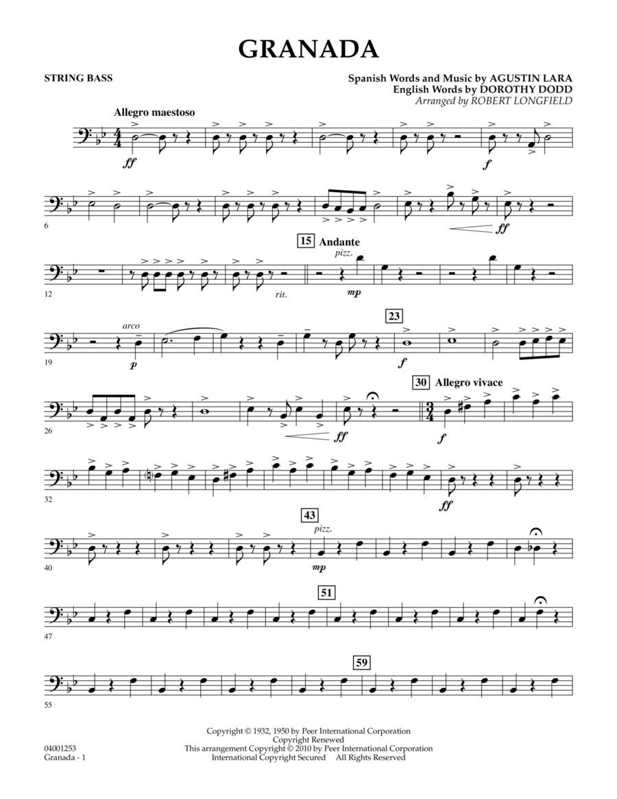 Granada - String Bass
