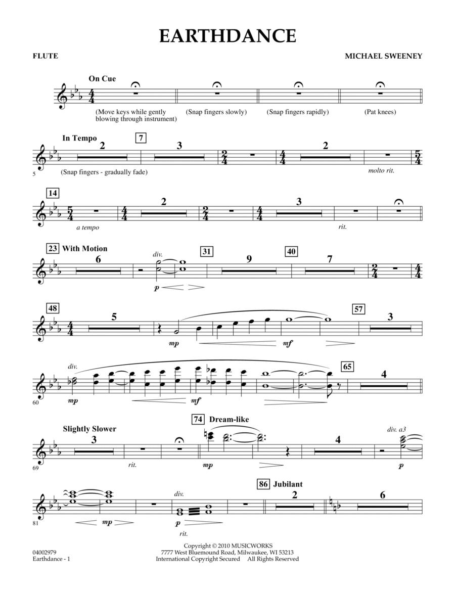 Earthdance - Flute