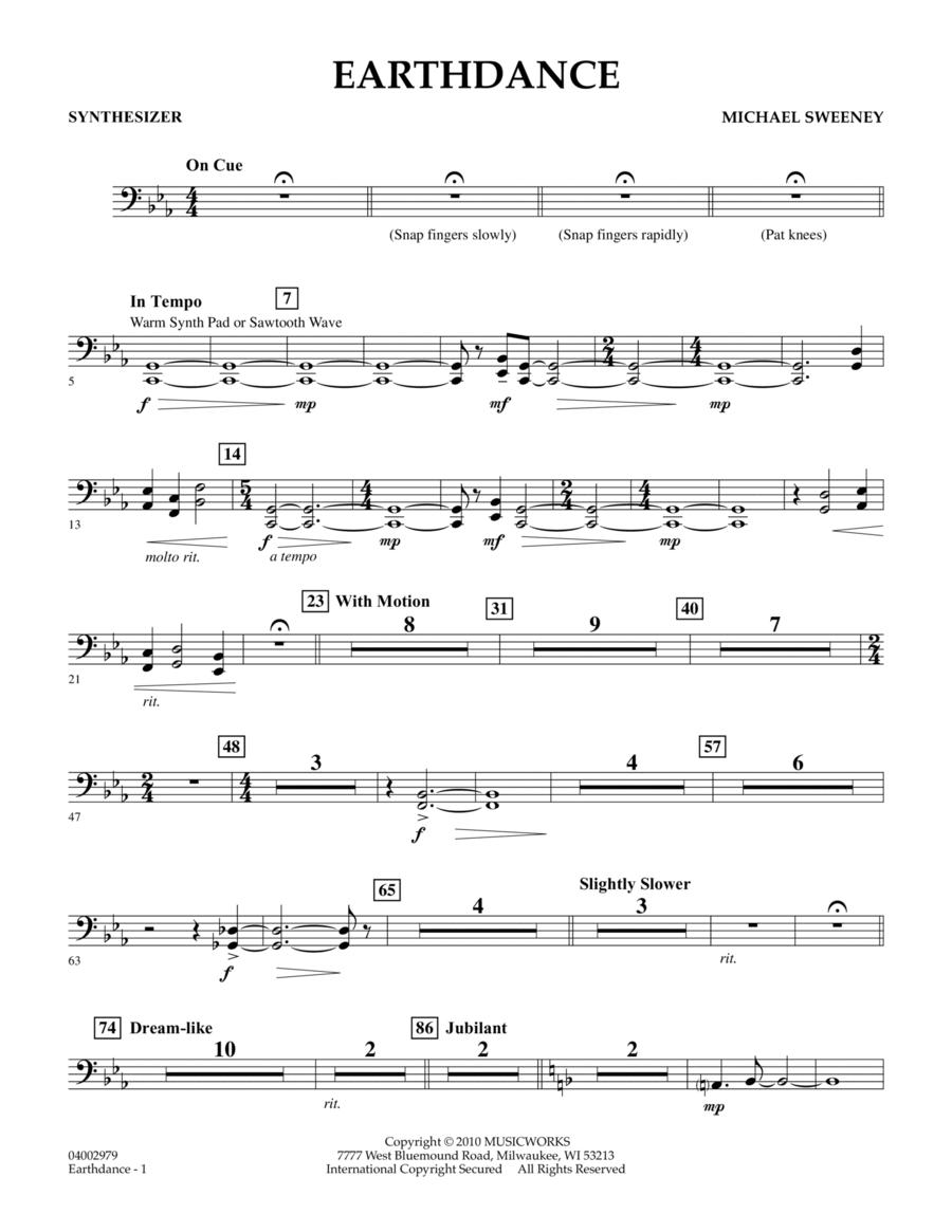 Earthdance - Synthesizer