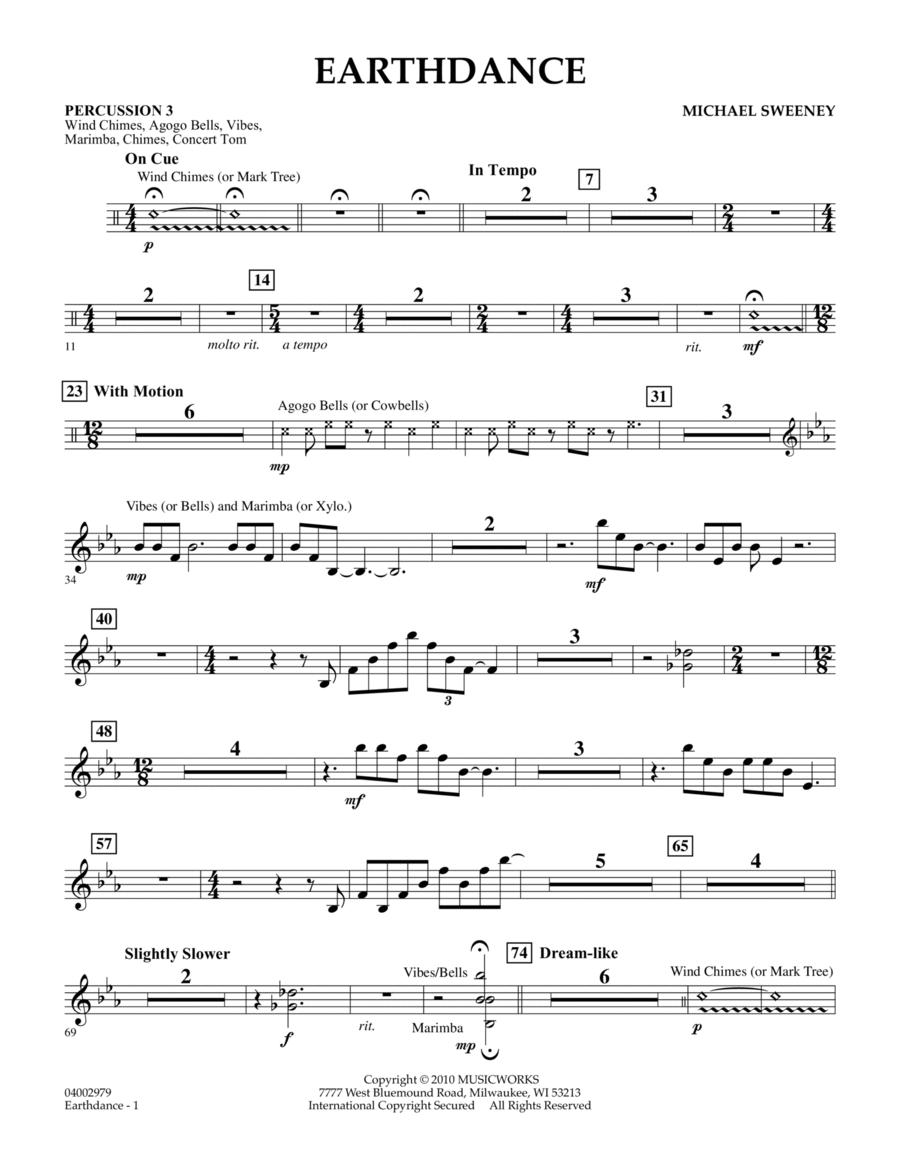 Earthdance - Percussion 3