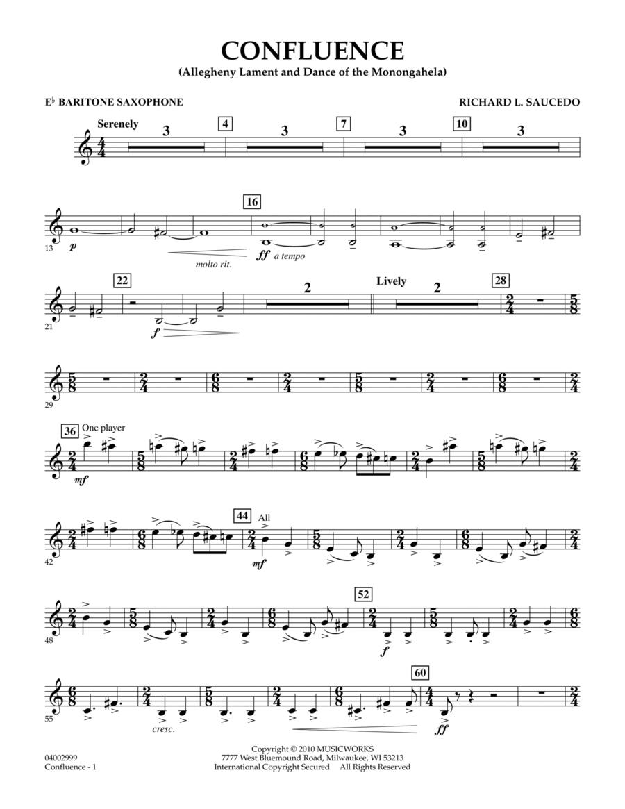 Confluence - Eb Baritone Saxophone