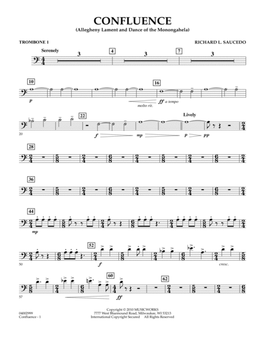 Confluence - Trombone 1